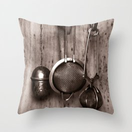 KITCHEN EQUIPMENT Throw Pillow