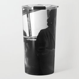 African American Portrait - If Rosa Parks Rode a Bus Today? Travel Mug