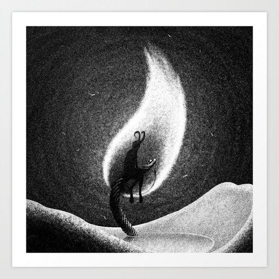 Drawlloween 2013: Demon Art Print
