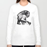 fierce Long Sleeve T-shirts featuring Stay Fierce by Natalie Hall