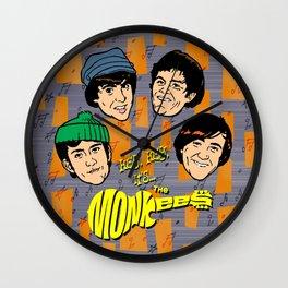 Monkeemania! Wall Clock