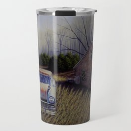 Ghosts of the Past Travel Mug