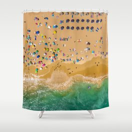 Beach Collection 3 Shower Curtain