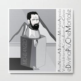micky Metal Print