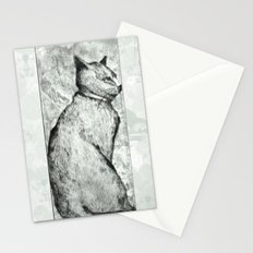 Wise Old Cat Stationery Cards