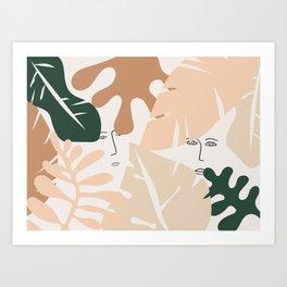 Finding it Art Print