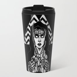 She's Filled with Secrets - Laura Palmer - Twin Peaks Travel Mug