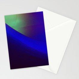 Indigo curve Stationery Cards