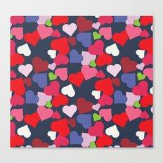 queen of hearts I Canvas Print