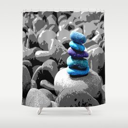 Staying Stones Shower Curtain