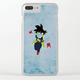 The First SSJ Clear iPhone Case