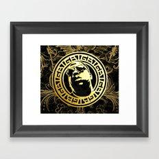 Versace Shades Framed Art Print