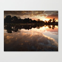 Lake of clouds Canvas Print