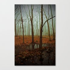 Do We Dare Go Into The Woods Canvas Print