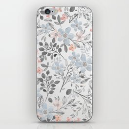 floral background iPhone Skin