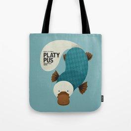 Hello Platypus Tote Bag