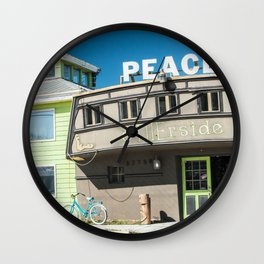 Otherside Board Shop, Key West Wall Clock