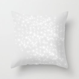 SHINNING ALL THE WAY Throw Pillow