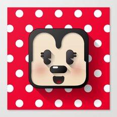 minnie mouse cutie Canvas Print