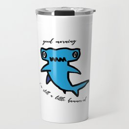 Hammerhead Shark Travel Mug