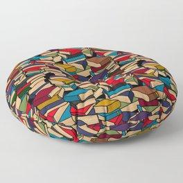 The Book Collector Floor Pillow
