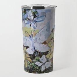 """"""" Blue Butterflies """" Travel Mug"""