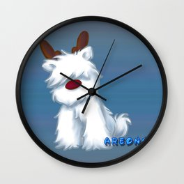 Little Mascot Wall Clock