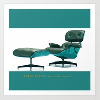 eames Art Prints featuring Eames by Retale