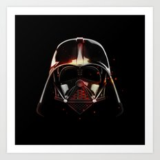 Darth Vader Shadow Art Print