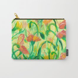 Sun drenched Poppies Carry-All Pouch