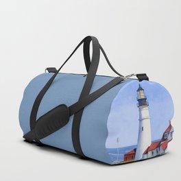 Portland Head Lighthouse Duffle Bag
