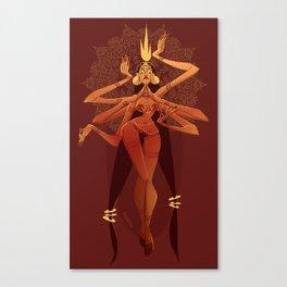 Goddess of Chaos  Canvas Print
