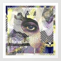 illuminati Art Prints featuring Illuminati by Sophia Pedersen
