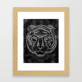 Tiger Lines Framed Art Print