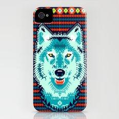 Geometric Wolf  iPhone (4, 4s) Slim Case