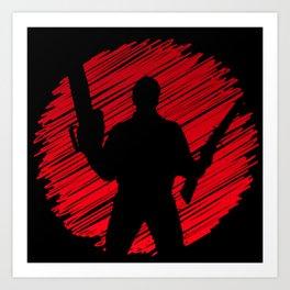 Evil Killer Logo Art Print