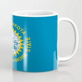 flag of south dakota,america,us,mount rushmore,dakotan,midwest,Sioux fall,rapid city,aberdeen,Pierre Coffee Mug