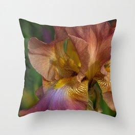 Iris Dreams Throw Pillow