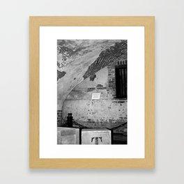 Powder Magazine B&W Framed Art Print