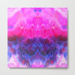 Pink Particular Metal Print