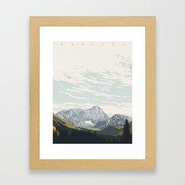 Capitol Framed Art Print