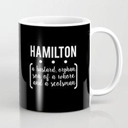 a.ham // black Coffee Mug