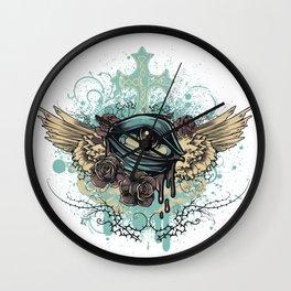 Bleeding Eye Wall Clock