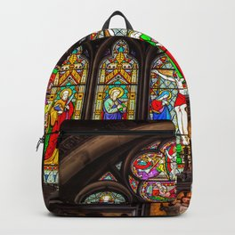 Ancient Stained Glass Backpack