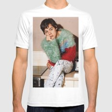Harry Styles Another Man White MEDIUM Mens Fitted Tee