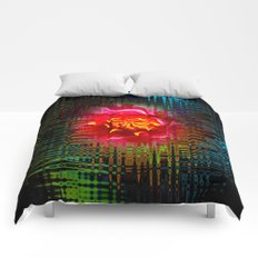 Abstraction of nature Comforters