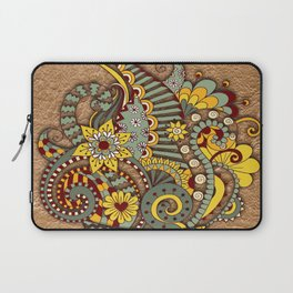 Hand-drawn doodle Art Laptop Sleeve