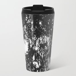 Snails eye view of the forest canopy Travel Mug