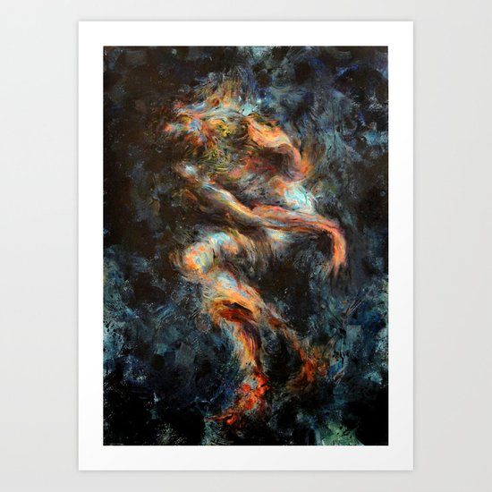 Submerged Art Print
