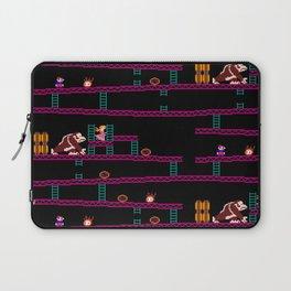 Donkey Kong Retro Arcade Gaming Design Laptop Sleeve